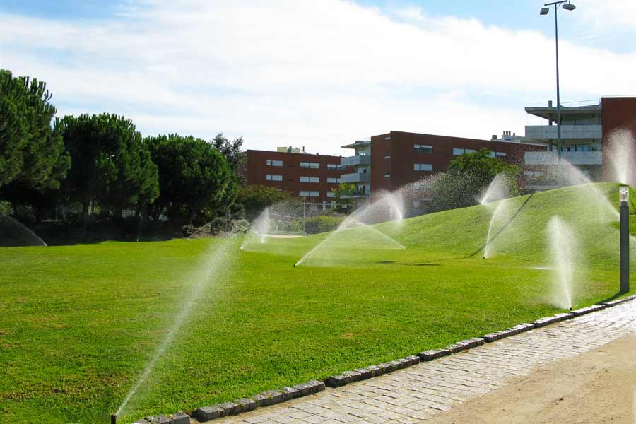 commercial park irrigation