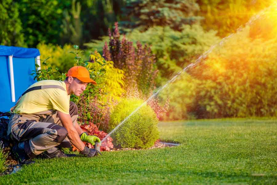 irrigation and sprinkler repair