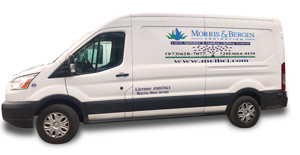 Morris & Bergen Irrigation van