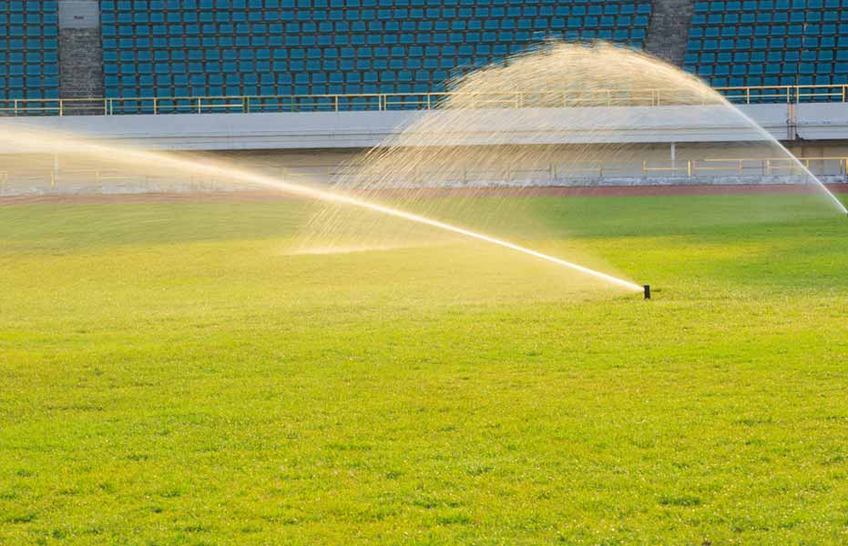sports field irrigation